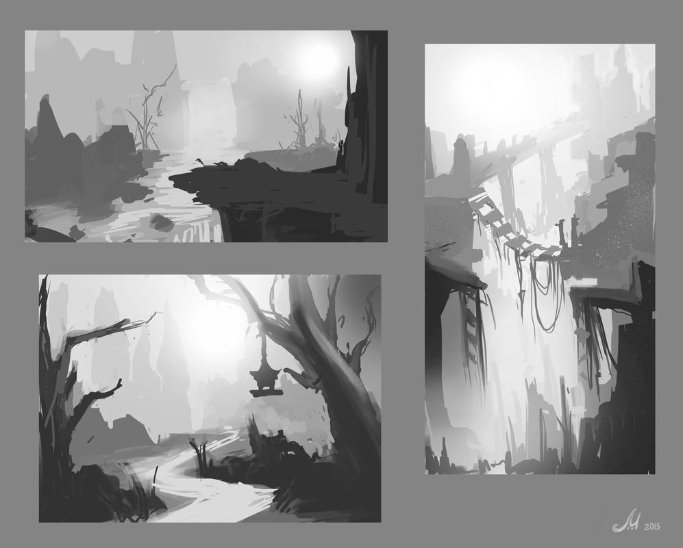 Environment sketch_1 by Misava