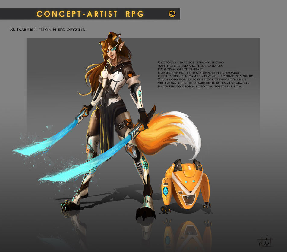 Concept Artist RPG Challenge 02. Character by Misava