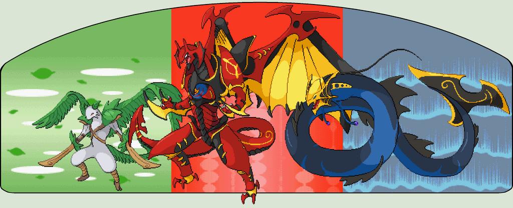 Mega Starter Pokemon Images | Pokemon Images
