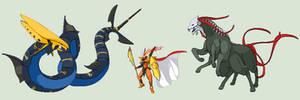 Senrai Starters Mega Evolutions! Overshade Set!