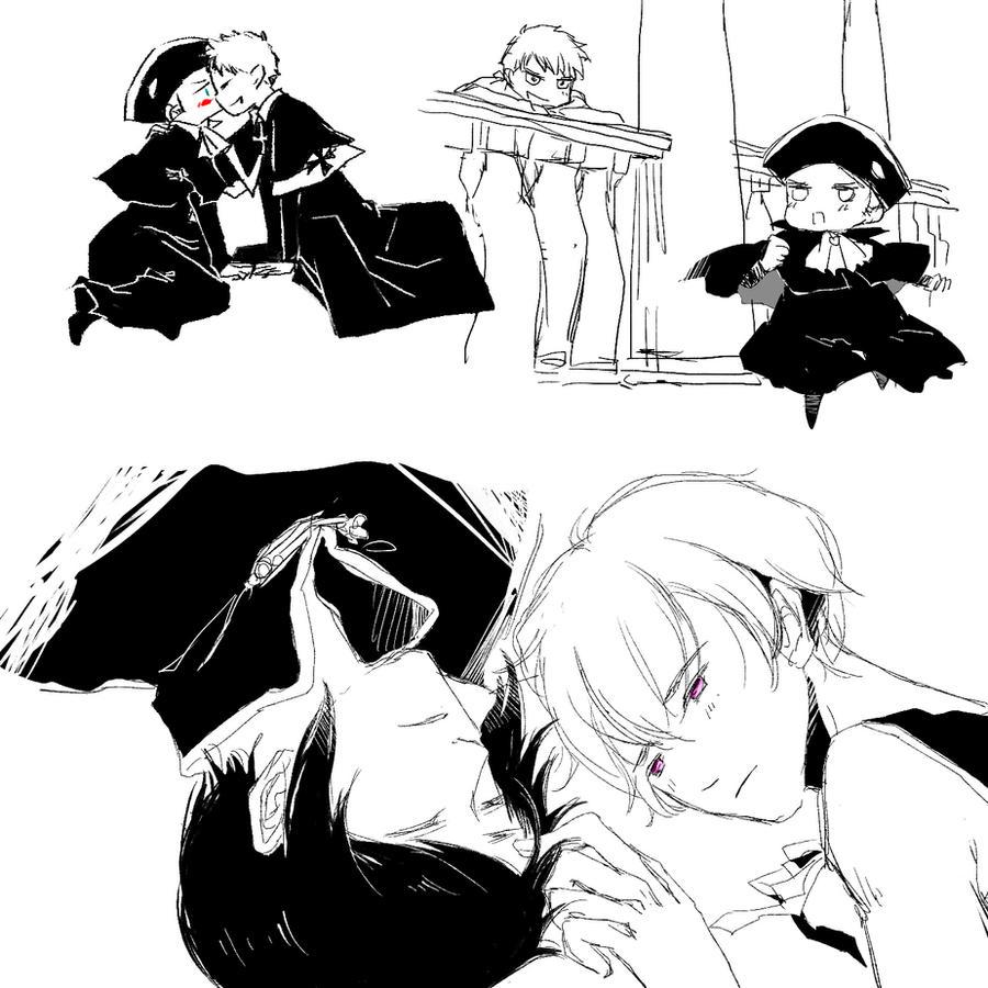 Sketch by heliooooo