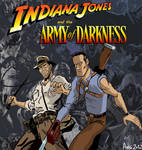 INDIANA JONES AND THE ARMY OF DARKNESS by angusto