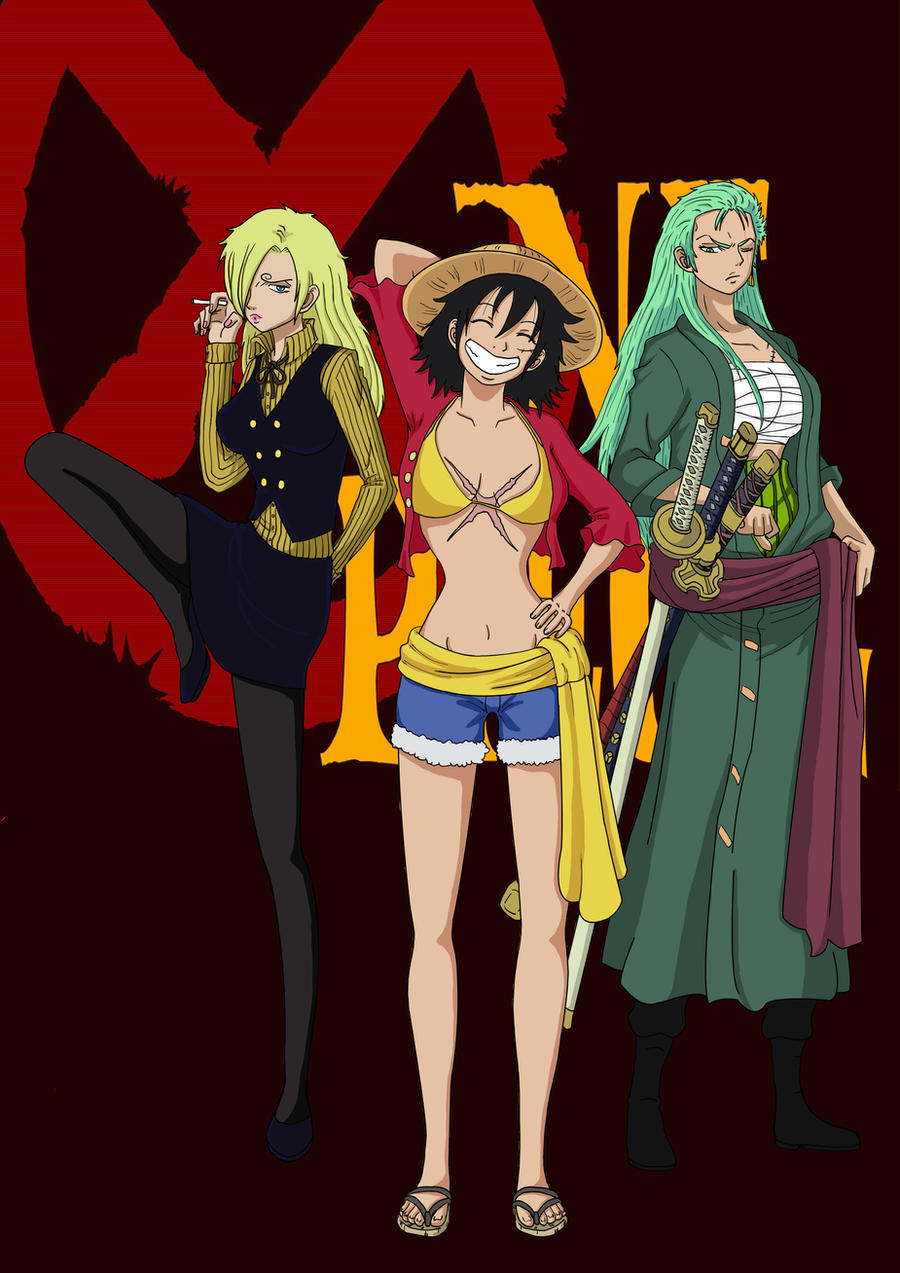 One Piece Gender Bender by Mizuffy
