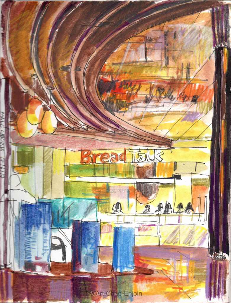 #420 - Mall ceiling by Art-Chap-Enjoin