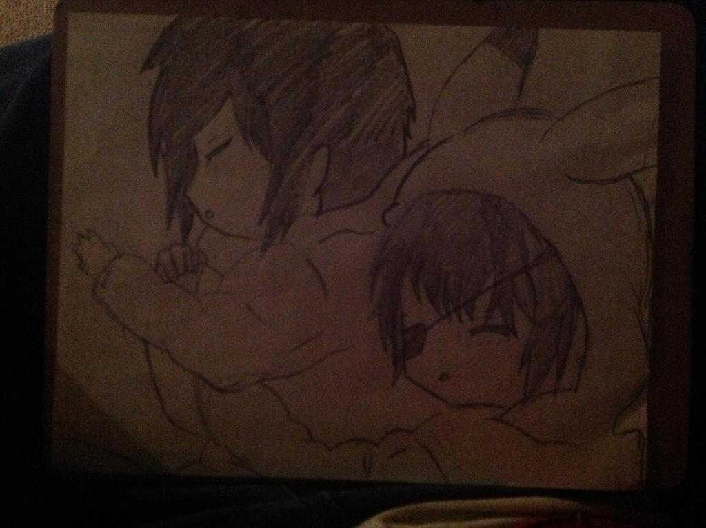 Baby Ciel and Sebastian by HomuraAkemi2