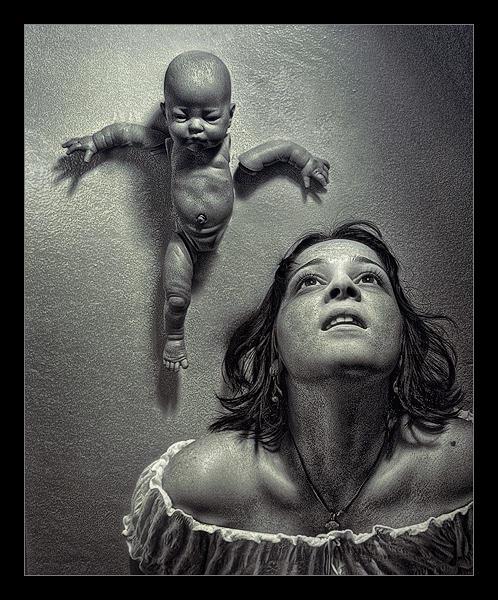 Selfportrait- Alles Ist Schwer by myownself