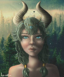 Druid Girl by Azula-Rae