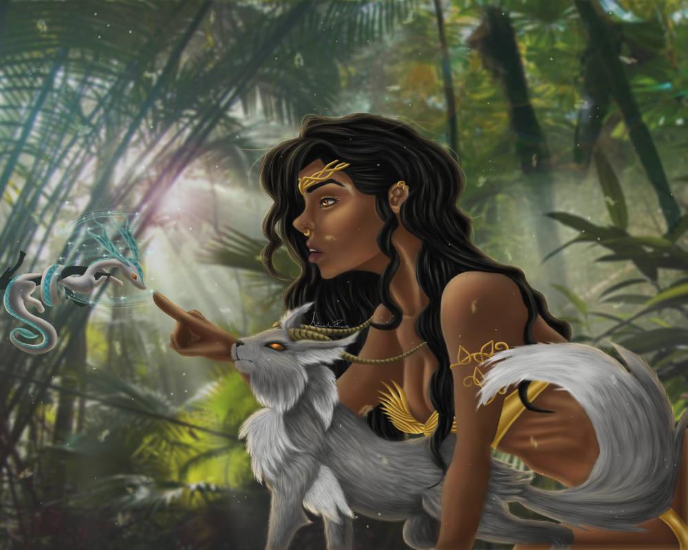 Arcane Jungle by Azula-Rae
