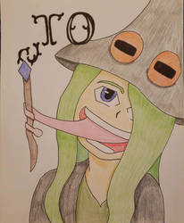 Drawtober Day#02: The Frog Witch