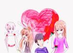 Feliz dia del amor y amistad b