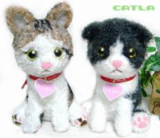 Amigurumi Cat by azfla-neko