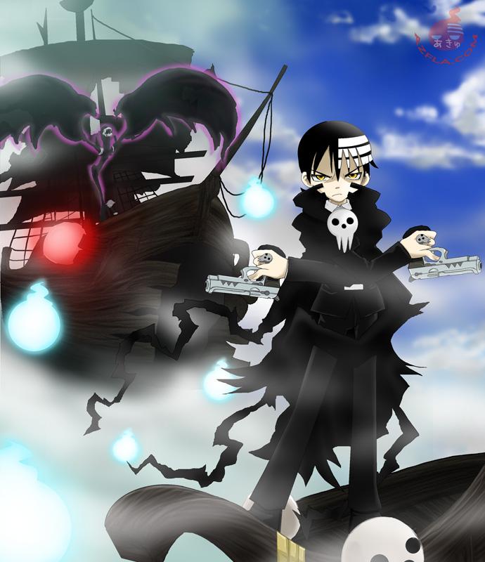 Death the Kid : Soul Eater by azfla-neko