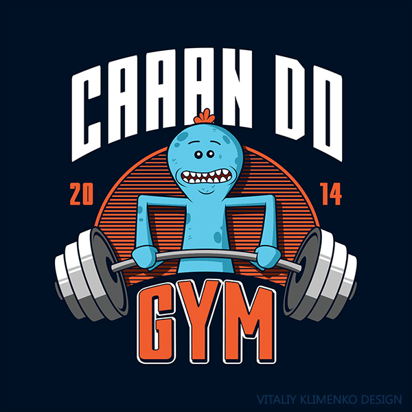 Can Do Gym ( Mr. Meeseeks ) by Vitaliy-Klimenko