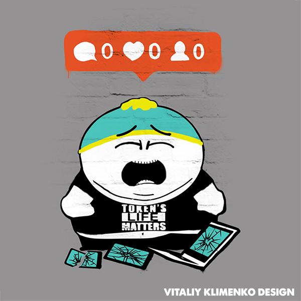 Cartman Banksy Style by Vitaliy-Klimenko