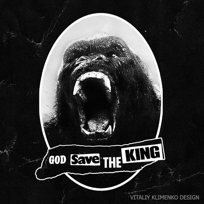 God save the King Kong by Vitaliy-Klimenko