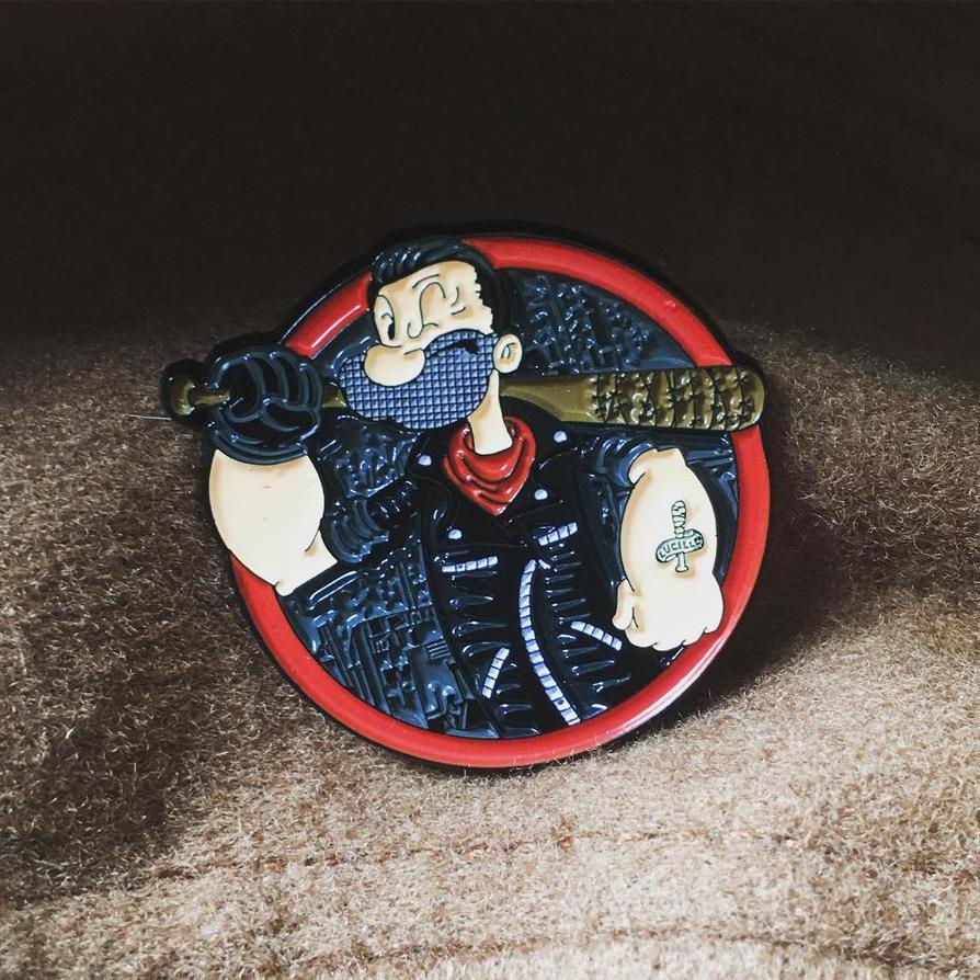 Negan The Savior Man pin by donot182
