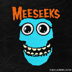 The MEESEEKS by Vitaliy-Klimenko