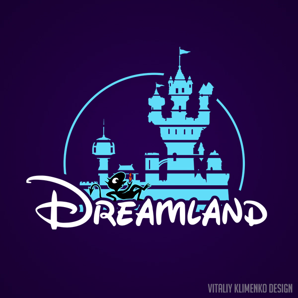 Dreamland ( Disenchantment/Disney ) by Vitaliy-Klimenko