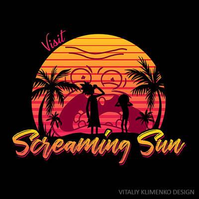 Visit Screaming Sun - Rick and Morty by Vitaliy-Klimenko