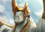 Young Lux and Galio - Flesh and Stone