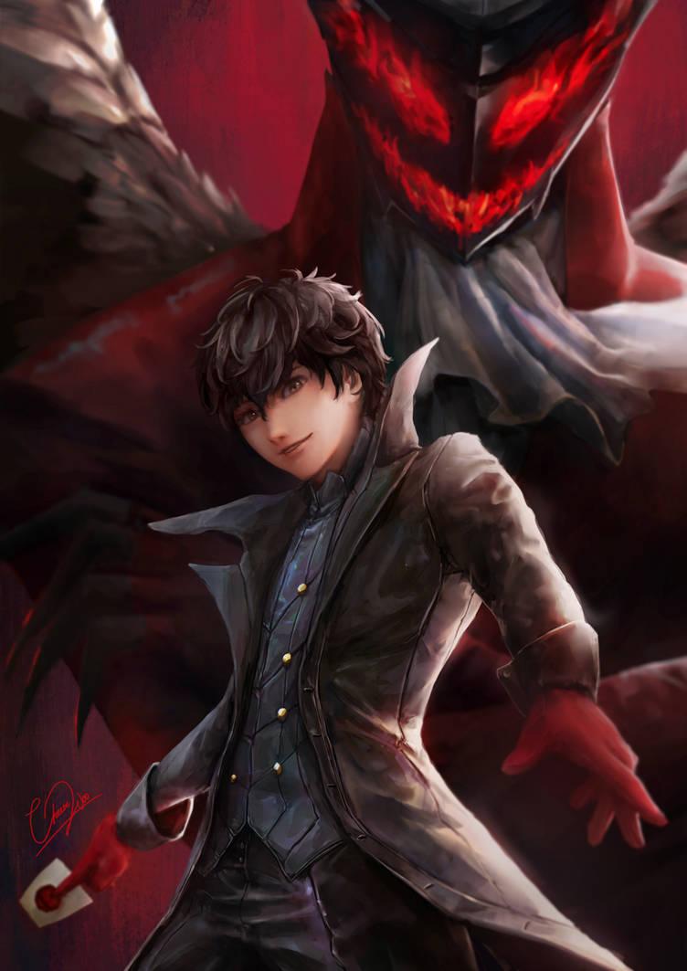 Joker and Arsene - Persona 5