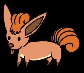 Derpish Chibi Vulpix by Mightyenapup