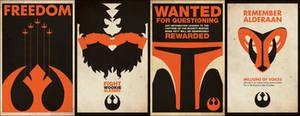 Rebel Propoganda Posters