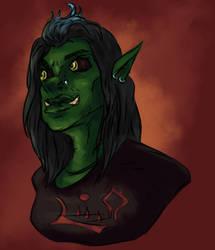 RPG portrait - Drich'Ya