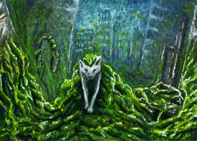 ACEO: Reclaiming Nature by Werwal