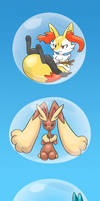 Pokemon in Bubbles