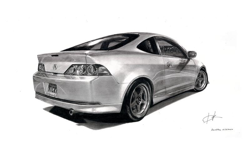 Acura RSX by david10072