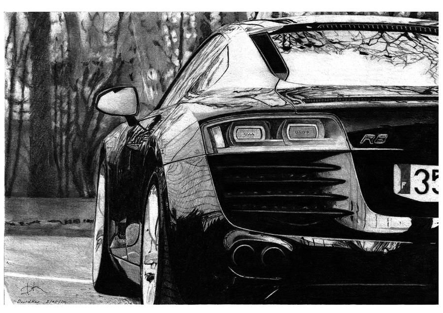 Audi R8 by david10072