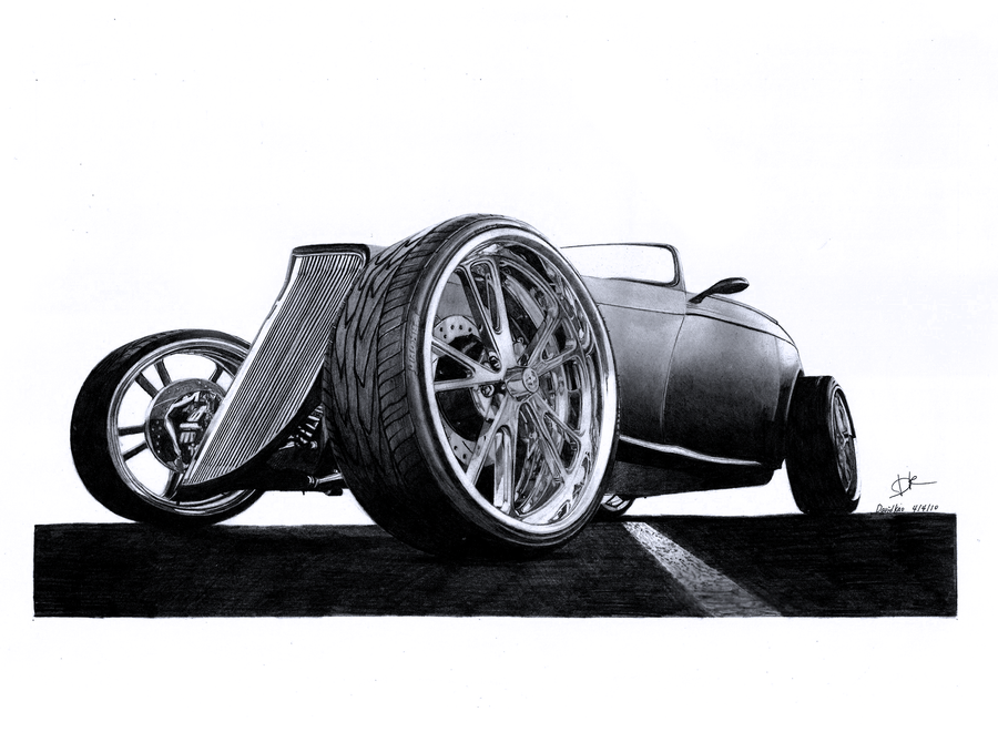 david10072 Rat Rod Art