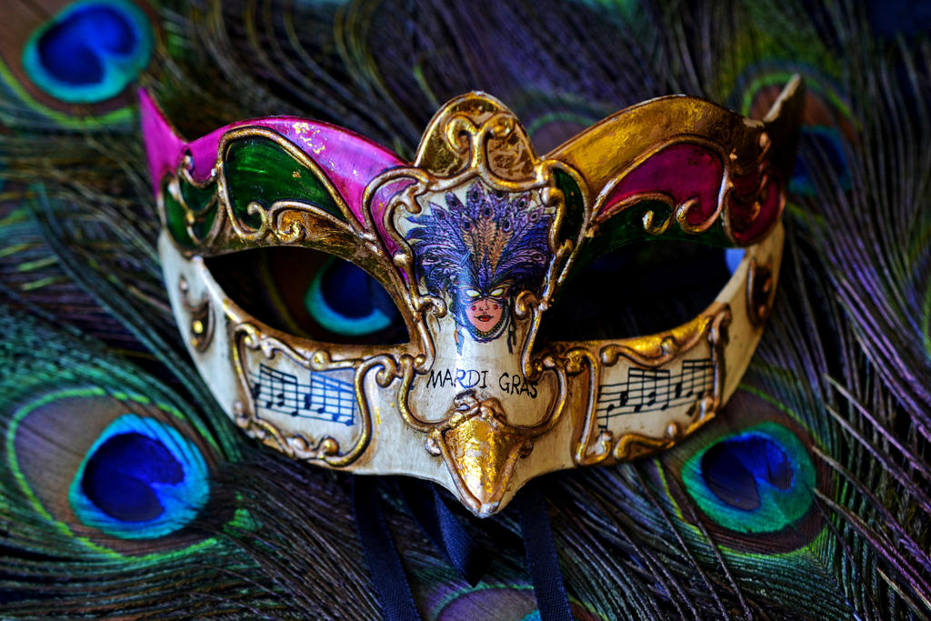 Mardi Gras Mask3 by tanzenderengel