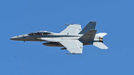 U.S. Navy F-18 Hornet by tanzenderengel