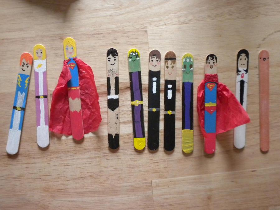 Legion of Popsicle Sticks by Kikane