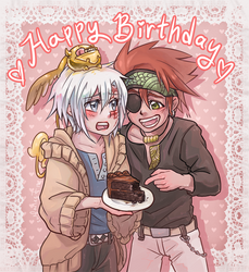Birthday Cake by Kikane