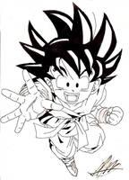 Goku by Sanosuke27