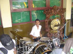 my self playing drum