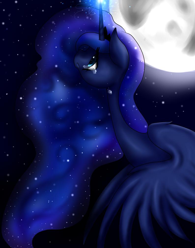Princess Luna by Kinjareta on DeviantArt