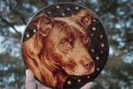 Wood burning / Pyrography Dog Portrait