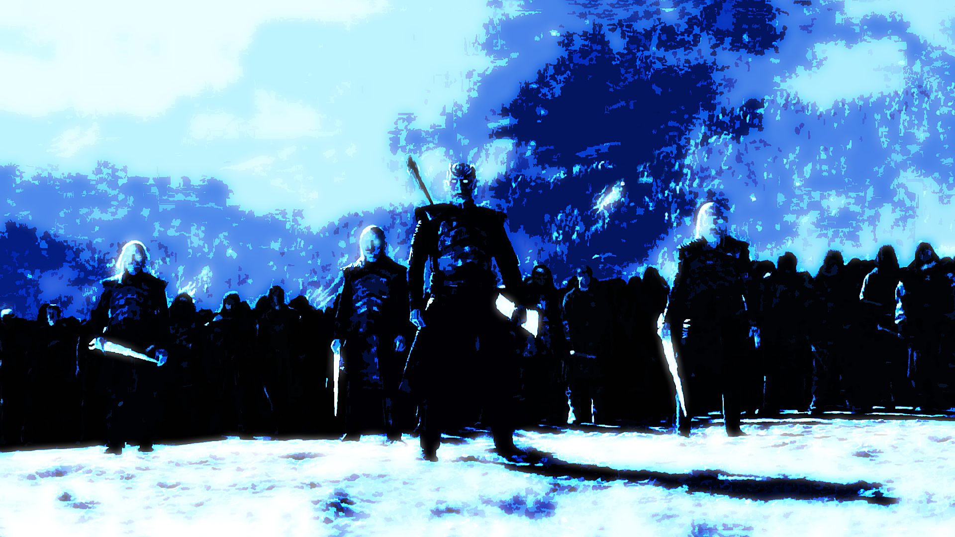 Game Of Thrones The Night S King Army By Smushrcz On Deviantart