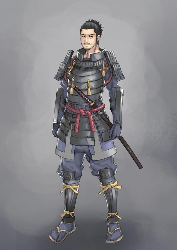 Kai Vordannen (DONE) Samurai_by_JOEIAN