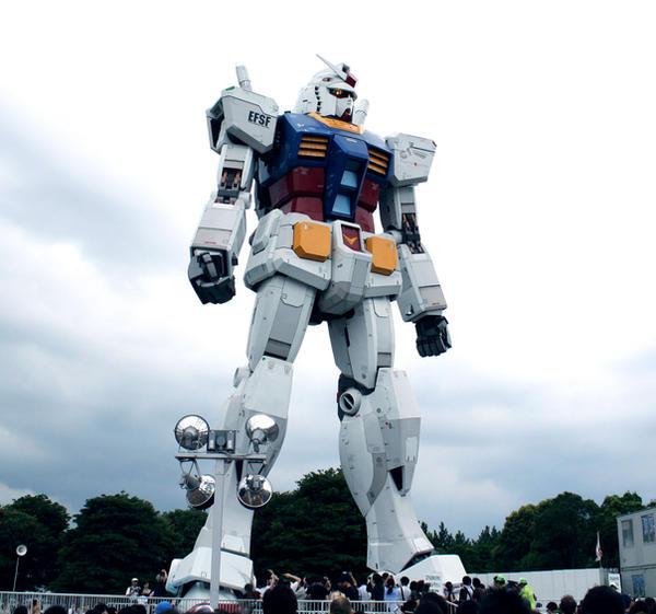 1:1 Gundam Model in Odaiba by JOEIAN