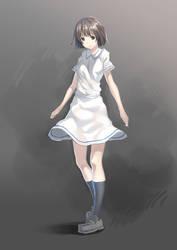 Macau school uniform by JOEIAN