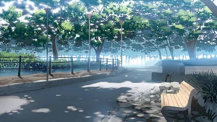 Park background by JOEIAN