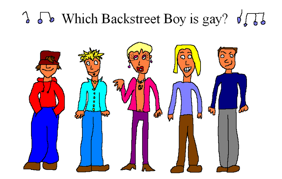 from Bryan witch backstreet boy is gay song