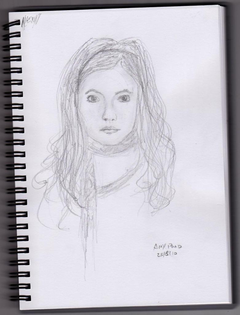 Amy Pond Sketch By Crmson Snow On Deviantart