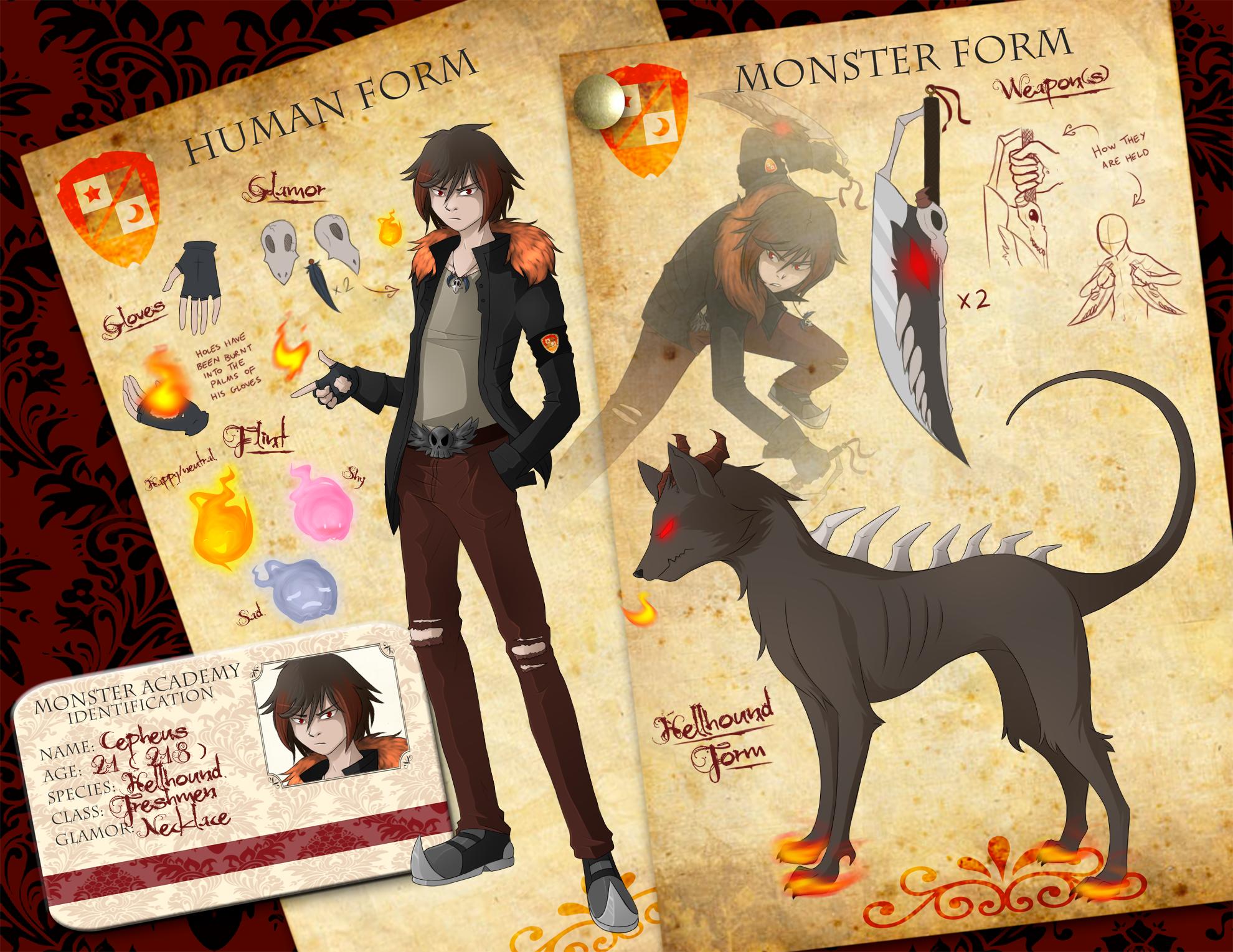 MA App - Cepheus the Hellhound by Maipee-Chan