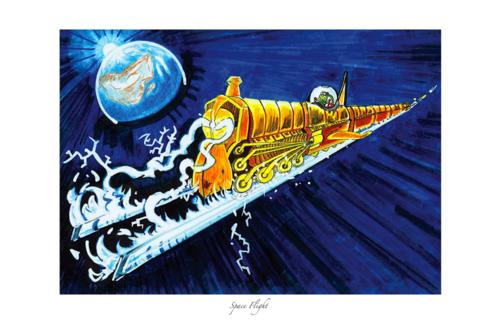 Space Flight by Akoniti